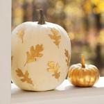 Gold Leaf Pumpkin. (Photo: Ladies Home Journal)