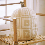 Painted Patchwork Pumpkin. (Photo: Better Homes and Gardens)