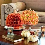 Flowered Pumpkins. (Photo: Helen Norman/Southern Living)