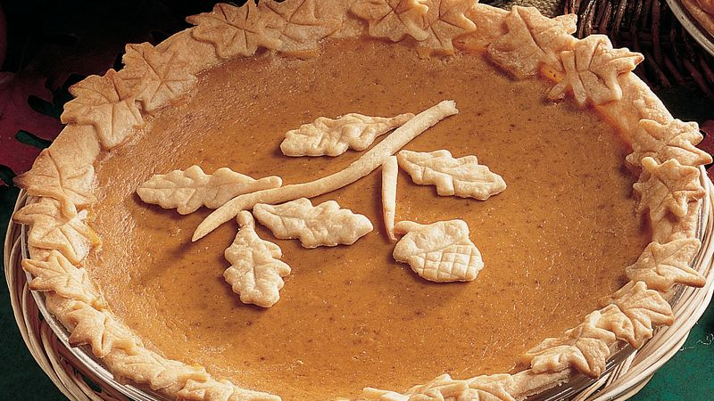 Tempting Pumpkin Pie (Photo: Betty Crocker)