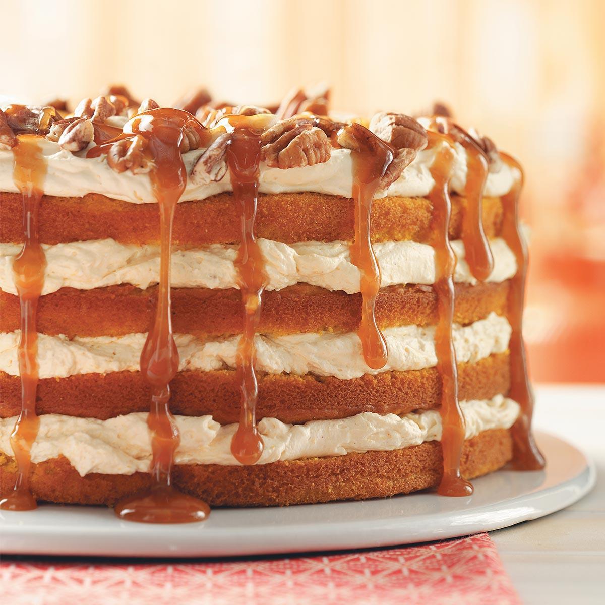 Pumpkin Torte (Photo: Taste of Home)
