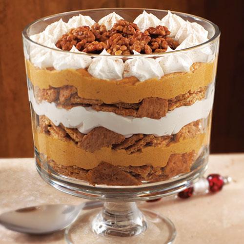 Pumpkin-Maple Cream Trifle (Photo: Pampered Chef)