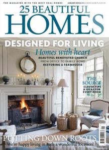 25 Beautiful Homes, January 2014