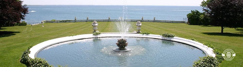Rosecliff pond, Newport, RI (Photo: Newport Mansions Preservation Society