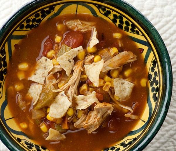 Slow Cooker Chicken Tortilla Soup (Photo: Framed Cooks)