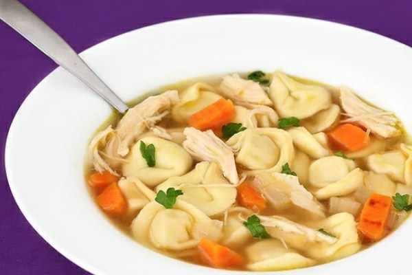 Easy Chicken Tortellini Soup (Photo: Gimme Some Oven)