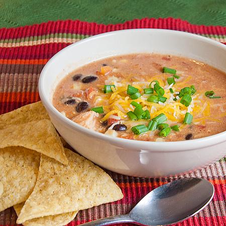 Quick Chicken Enchilada Soup (Photo: Real Mom Kitchen)