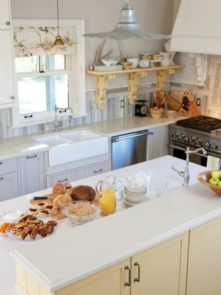Sarah's country house kitchen.