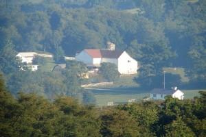 Distant farm