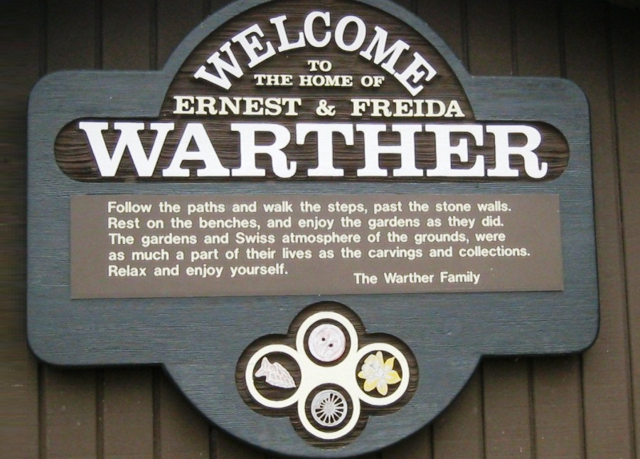 Warm welcome from the Warther family.