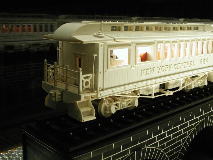 Empire State Express caboose. (Photo: Nondot)