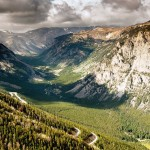 View of Custer National Forest and Beartooth Highway switchbacks. (Photo: Donnie Sexton)