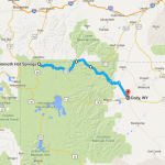 Day Two (con't): Yellowstone's NE Entrance to Mammoth and back to Cody - 176 miles.