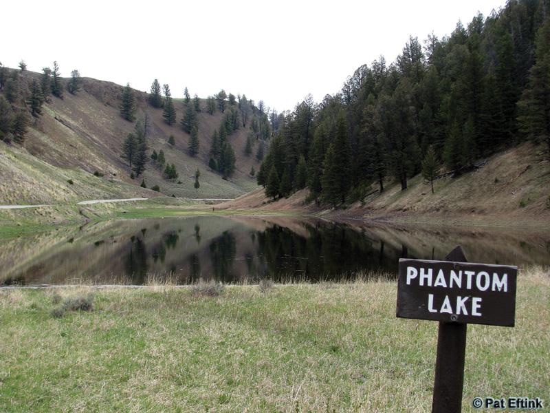 Phantom Lake on May 24, 2009. (Photo: Pat Eftink)