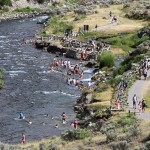 Boiling River. (Photo: Yellowstone Park)