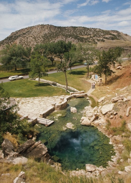 Hot Springs State Park, Thermopolis, WY. (Photo: Wyoming Tourism)