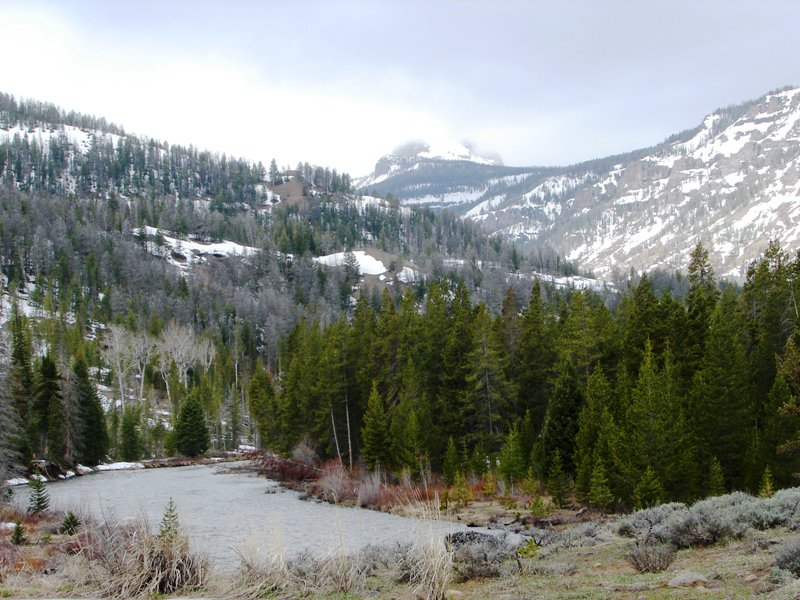 Washakie Wilderness and North Fork of the Shoshone River.