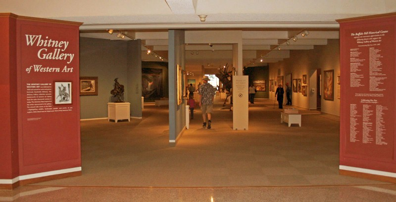 Whitney Gallery of Western Art entrance. (Photo: Buffalo Bill Center of the West)