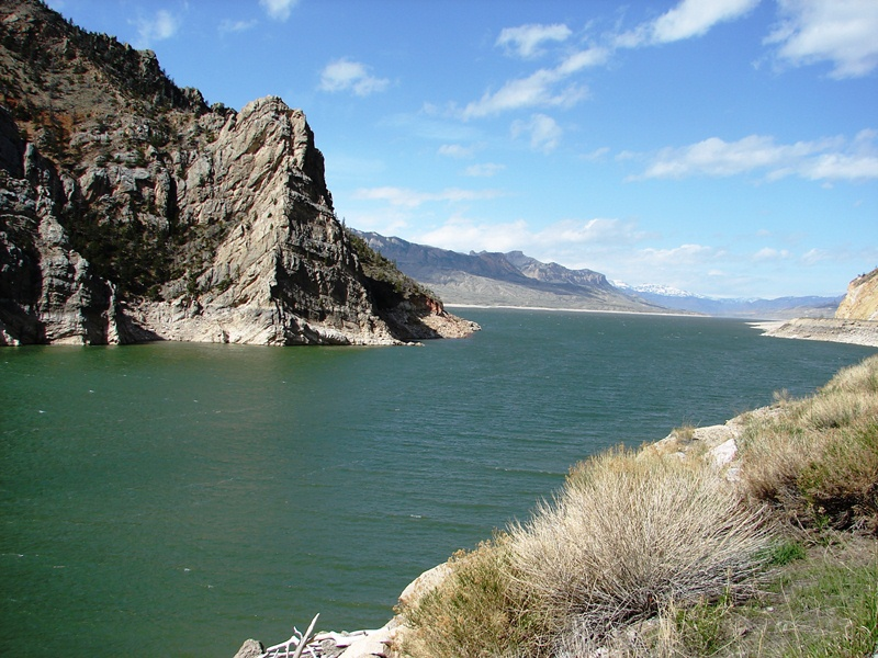 Buffalo Bill Reservoir.