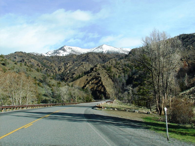 The landscape in Shoshone National Forest seems to change with every turn.