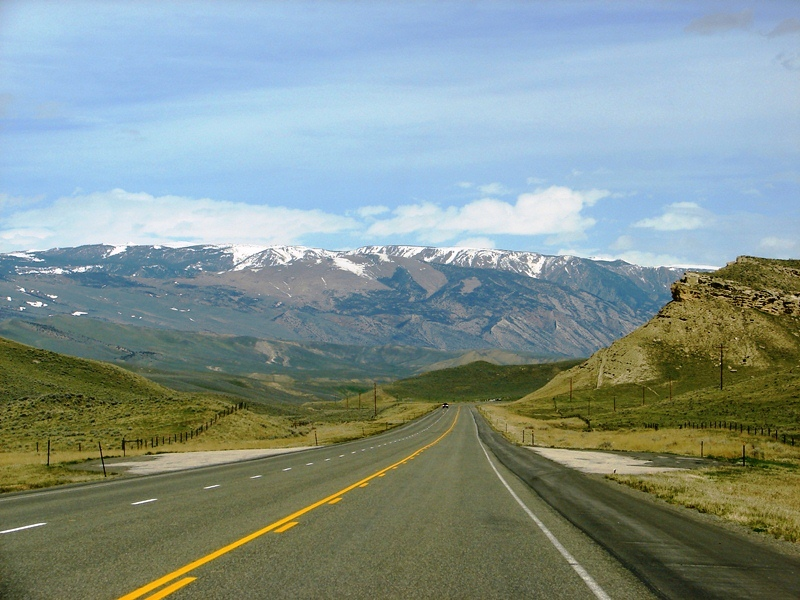 Heading out of Cody, north by northwest, deeper into the mountains to Yellowstone's Northeast Entrance.