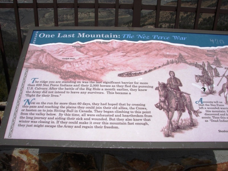 Dead Indian Hill was the last mountain the Nez Perce needed to cross before reaching Canada.