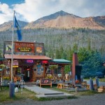You can get grizzly-blend Montana-roasted coffee, among other things, at the general store in Silver Gate.