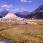 Soda Butte, an extinct geyser near the mouth of Soda Butte Creek. (Photo: National Park Service)